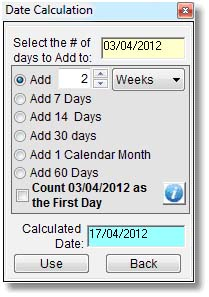 CalendarControlExample1
